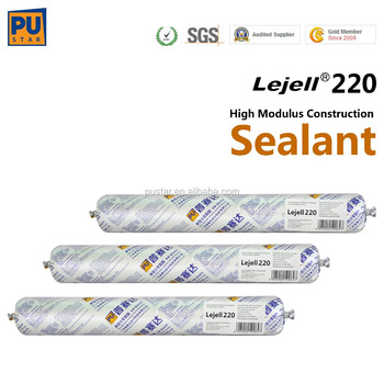 High Modulus, Good resistance to water Polyurethane(PU) Sealant for Construction Lejell220 Pustar