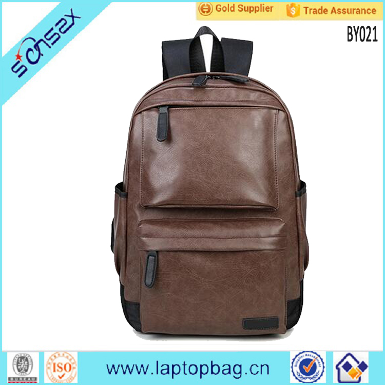Wholesale Fashion High Quality Leisure Leather Backpacks