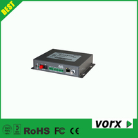 Up to 18ch 80K digital video fiber optical transmitter receiver with audio, data, switching value channel