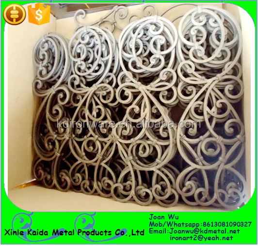 Decorative wrought iron tuscan panels for stair railings buy wrought iron railing panels - Wrought iron decorative wall panels ...