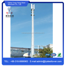 Mobile Television Telecommunication Column Mast