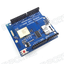 CC3000 WiFi Shield for Arduino UNO R3 MEGA2560 SimpleLink smart Config with SD Slot