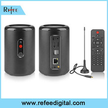 Refee android smart tv receiver box with webcam
