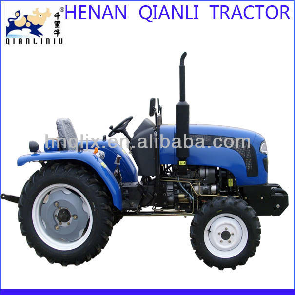 famous brand henan China make 4wd 25hp qln254 diesel engine cheap compact tractor