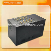 16 ports GSM VOIP GATEWAY/850/900/1900MHz GSM Base Box for Alarm Serucity System