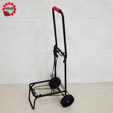 small luggage trolley Foldable hand shopping storage cart