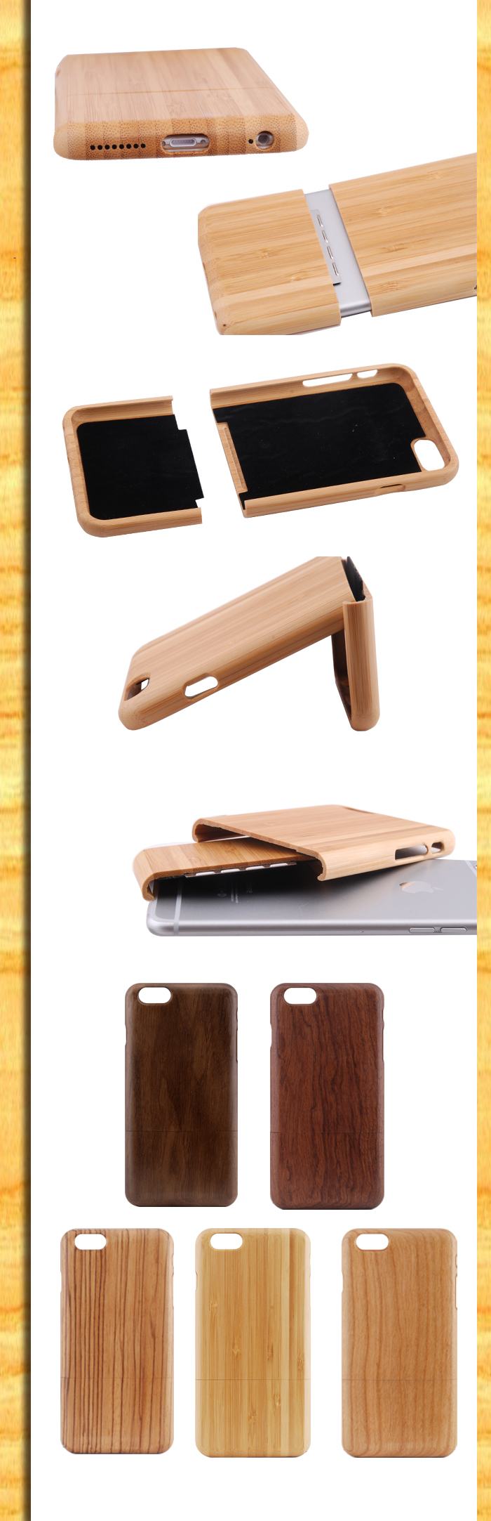 Guangzhou wholesale 2017 popular lasering animals wood phone case for iphone 7 for iphone 8