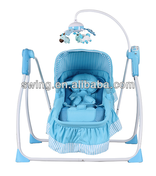 Multifunctional Baby Swing Bed/baby doll crib cot/europe baby cot bed