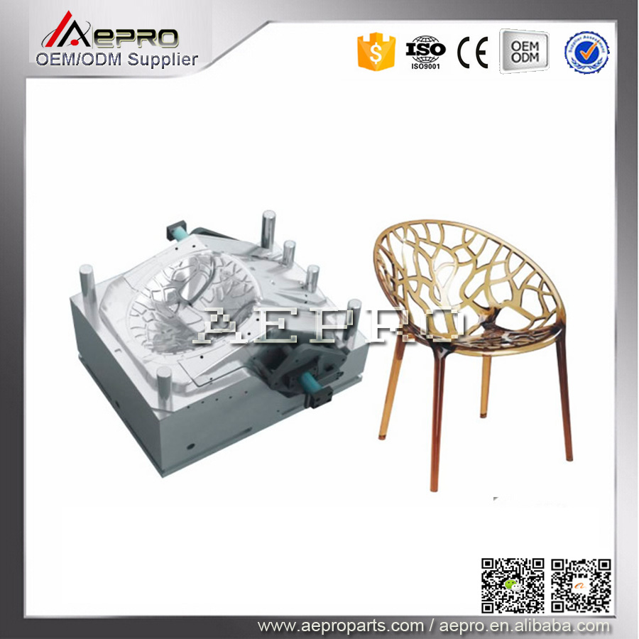Home commodity injection safety-step chair mould,plastic chair mold