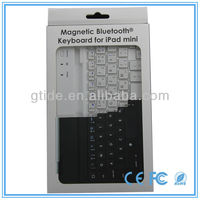 best selling retail items ultra slim aluminum bluetooth keyboard case for ipad mini