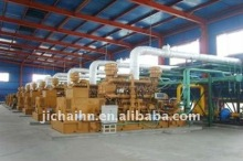 4Mw natural gas generator power plant