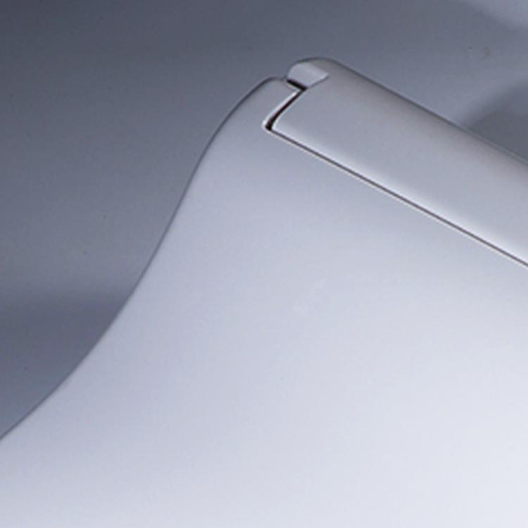 Novo design de uma peça ABS deodorization antibiose baterias recarregáveis branco spray de água assento do vaso sanitário aquecido automático