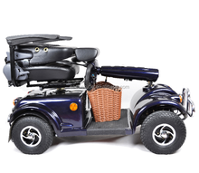 Disabled electric tricycles Four Wheel/double seat tricycle