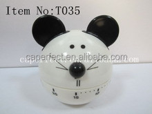 Factory supplier rohs good sale lovely animal shape kitchen timer