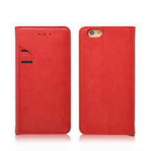 Veaqee manufacturer foldable stand design high quality leather cover mobile cell phone case