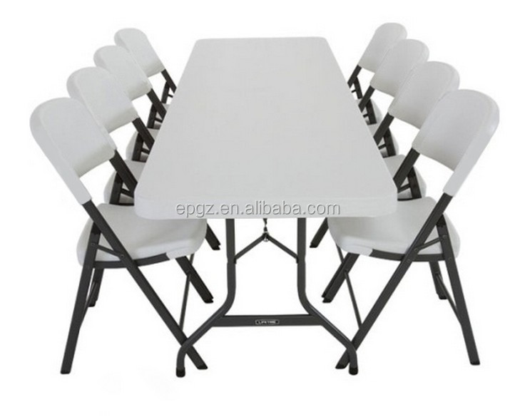 Cheap Outdoor Checkers Table Kids Plastic Picnic Tables Folding Tables for Banquets