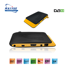 2018 Hot Selling Mini DVB-S2 Internet TV Set Top Box HD Video Satellite Receiver Software Download