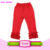New Style Hot Sale Triple Ruffle Icing Leggings Girls Boutique Blank Baby Solid Icing Ruffle Pants Wholesale Kids Leggings