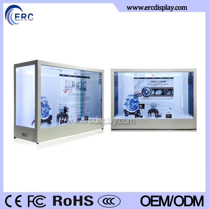 china supplier factory price 2016 new advertising equipment transparent lcd display cost