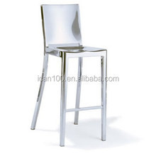 Mdoern Dining Fashion Stainless steel bar chair