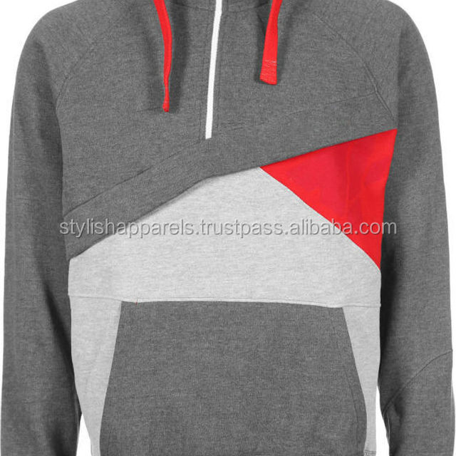 Cotton Fleece Hoodies with Different Color Panels / Get Your Own Designed Hoodies & Sweatshirts From Pakistan