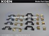Supply Brake Pad Clips FMSI D1479-8542 LR032063 - Use For iLAND ROVER