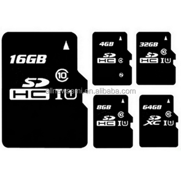 OEM high speed black sd card 32gb 64gb 128GB class 10 for sandisk memory card class 10