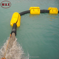 Large Diameter 710mm MDPE Floating Gold Dredge Pontoons for Slurry