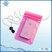IPX8 water sports waterproof cover for iphone 5