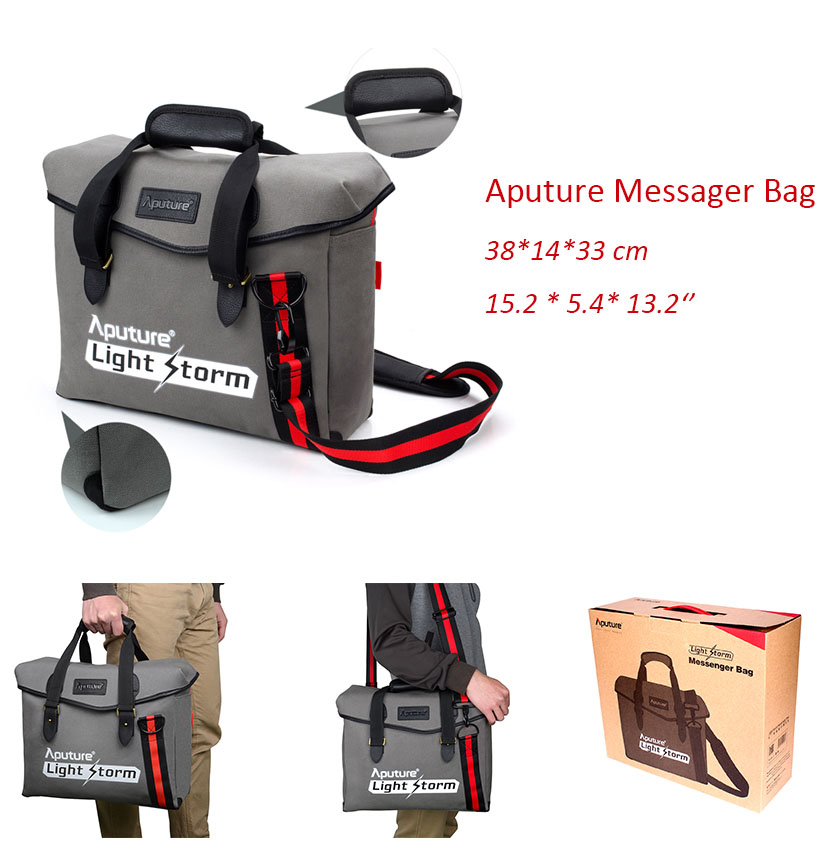 Aputure Light Storm Messager canvas waterproof digital photography bag