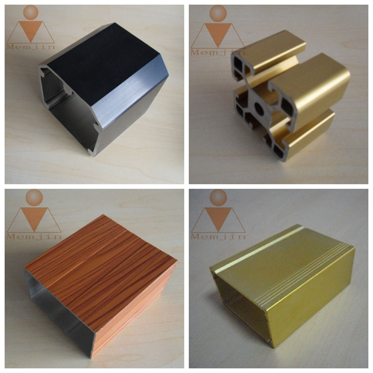 Customize Industrial Aluminium Extrusion Profile