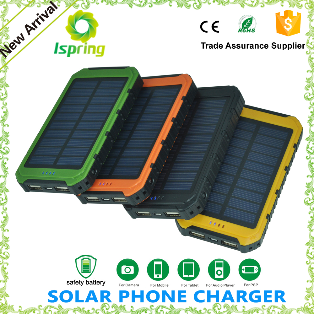 Portable USB Charger Power Bank 5000Mah Mobile Solar Charge with oem logo