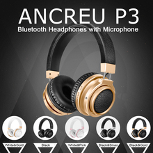 ANCREU P3 Factory Cheap Wireless Stereo Headphone Without Wire