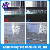 Liquid proof glass protective super hydrophobic coating PF-303G4