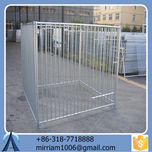 2015 Used Dog Kennels or galvanized comfortable acrylic pet cage/ dog house