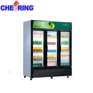 3-Door vertical display Refrigerated Showcase