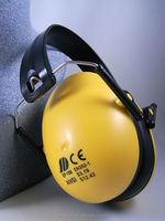 Working Novelty Black ABS aviation noise reduction Ear muff