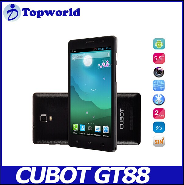 alibaba in Spain Hot selling cheap phone Cubot GT88 for Wholesale