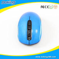 Hot export fashion color wireless mouse for PC game
