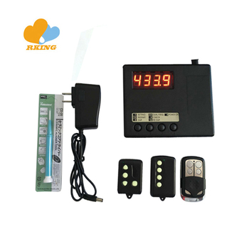 Duplicator Master and Frequency Meter Remocon Rmc888 for fixed code remotes