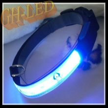 Nice gift for vip client dog led collar