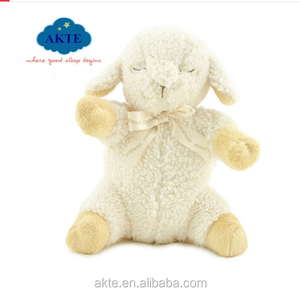 Relax Timer Baby Soother Musical Sheep Plush, 4 White Noise Sound Sleeping Sheep