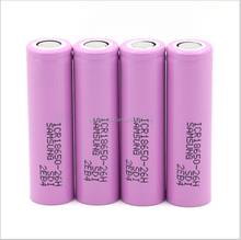 Hot selling real big battery mod e-cigarette 3.6 lithium battery 18650 for samsung ICR18650 26H 2600mah 18650 battery tube mod