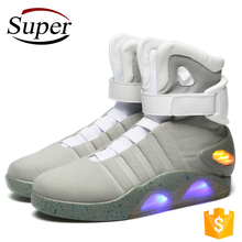 2017 Most Popular Fashion LED Light Up Sport Shoes Men Basketball Shoes