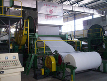 Single Cylinder Single Wire 1760mm Toilet Paper Making Machine to Make Medium/high Tissue Paper Toilet Paper