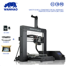 Top selling small format 3D Printing metal machine DIY FDM cost of Wanhao 3d printer with 1.75mm material