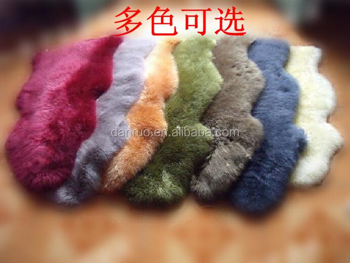 Coffee wool floor mat stain