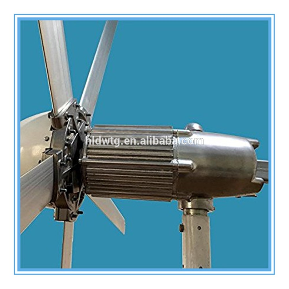 wind turbine 500w with 5 pcs aluminum alloy blades