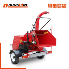 Factory export directly DWC series diesel engine tyre wood chipper