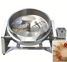 New Design Gas Heating Industrial Cooking kettle Mixer